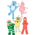 Yo Gabba Gabba Wall Decorations 62 pack
